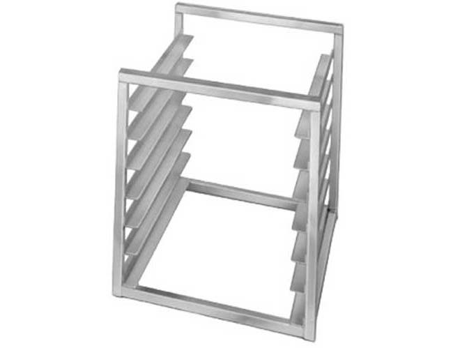 With Bar and Hooks Channel Manufacturing Aluminum Tubular Wall Shelf, 36 x 12 inch -- 1 each.