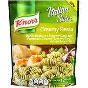 Knorr Italian Sides Creamy Pesto Pasta Meal, 4.1 Ounce -- 8 per case.