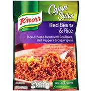 Knorr Secret Cajun Red Beans and Rice Recipe Side Meal, 5.1 Ounce -- 8 per case.