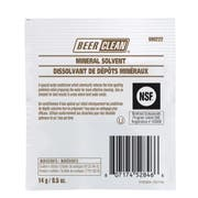 Beer Clean Mineral Solvent Powder, 0.5 Ounce -- 100 per case.