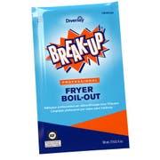 Break-Up Professional Blue Fryer Boil Out, 2 Ounce Packet -- 36 per case.