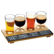 Cal Mil Reclaimed Wood Write On Taster Board, 12 x 6 x .375 inch -- 6 per case.