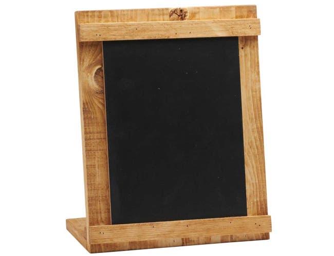 Cal Mil Madera Write On Chalkboard, 10.25 x 4 x 13 inch -- 6 per case.