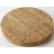 American Metalcraft Round Bamboo Butcher Block Serving Board, 14 inch Dia. -- 6 per case.