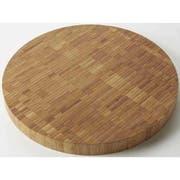 American Metalcraft Round Bamboo Butcher Block Serving Board, 16 inch Dia. -- 4 per case.