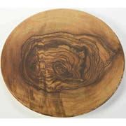 American Metalcraft Olive Wood Melamine Serving Board, 17 inch Dia. -- 8 per case.