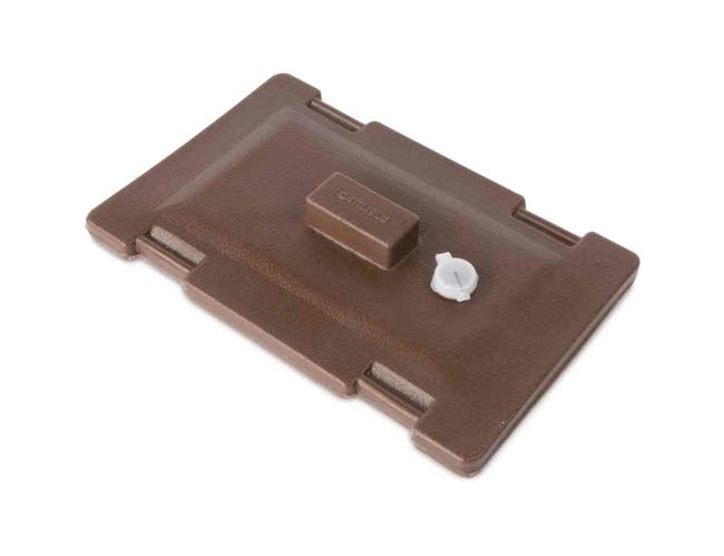 Brown Cateraide Lid Assembly Only for 3 1/2 Gallon Soup and Chili Server LD350N 5 Gallon Beverage Server LD500N -- 1 each