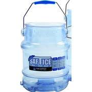 San Jamar Original and Shorty Saf T Ice Tote, 6 Gallon -- 1 each.