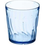 Dinex SAN Blue Swirl Tumbler, 9 Ounce -- 72 per case.