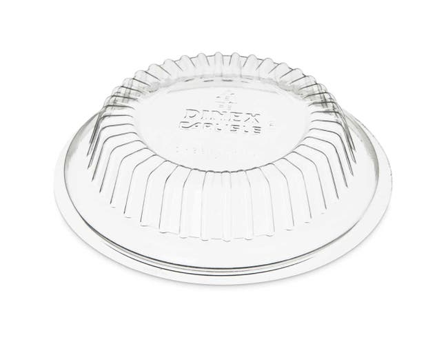 Dinex SAN Clear Dome Lid Only -- 1000 per case.