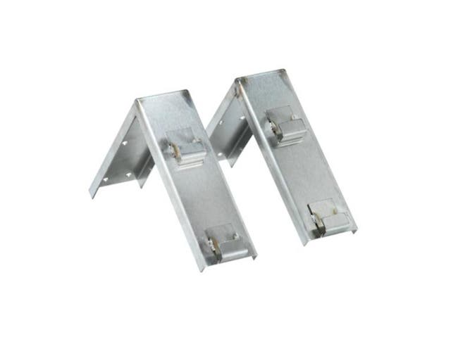 Dispenser Rite Stainless Steel Optional Quick Release Bracket Kit for WR-CC-22 Cup Caddy, 7 x 2 1/4 x 7 1/2 inch -- 1 each.