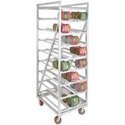 Channel Manufacturing Aluminum Heavy Duty Series Mobile Full Size Can Storage Rack, 82.25 x 25.5 x 35 inch -- 1 each.