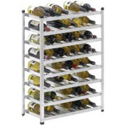 Channel Manufacturing Aluminum Wine Rack, 34.5 x 22.5 x 12.75 inch -- 1 each.
