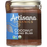 Artisana Organic Cacao Bliss Raw Coconut Butter, 8 Ounce -- 6 per case.