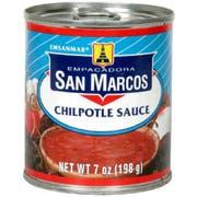 San Marcos Chipotle Sauce, 7 Fluid Ounce -- 24 per case.