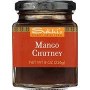 Sukhis Mango Chutney, 8 Ounce -- 6 per case.