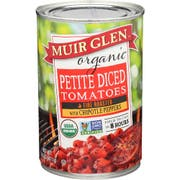 Muir Glen Organic Diced Chipotle Tomato, 14.5 Ounce -- 12 per case.