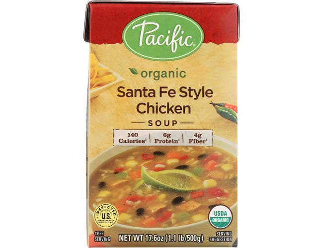 Pacific Foods Organic Santa Fe Style Chicken Soup, 17.6 Ounce -- 12 per case.