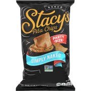 Stacys Simply Naked Pita Chips, 18 Ounce -- 6 per case.