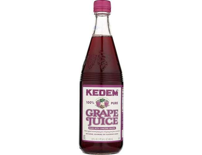 Kedem Concord Grape Juice, 22 Ounce -- 12 per case.