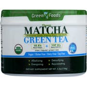 Green Foods Matcha Green Tea, 5.5 Ounce -- 1 each.