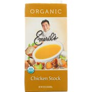 Emerils Organic All Natural Chicken Stock, 32 Ounce -- 6 per case.