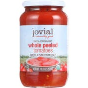 Jovial Organic Whole Peeled Tomatoes, 18.3 Ounce -- 6 per case.