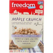 Freedom Foods Maple Crunch Cereal, 10.5 Ounce -- 5 per case.