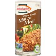 Manischewitz Whole Grain Meal Matzo, 16 Ounce -- 12 per case.