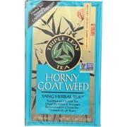 Triple Leaf Horny Goat Weed Tea - 20 bags per pack -- 6 packs per case.