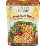 Jyoti Organics Garbanzo Beans, 10 Ounce -- 6 per case