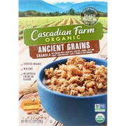 Cascadian Farm Organic Ancient Grain Cereal, 12.5 Ounce -- 6 per case.