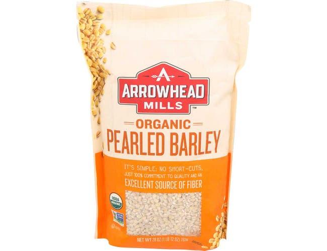 Arrowhead Mills Organic Pearled Barley, 28 Ounce -- 6 per case.