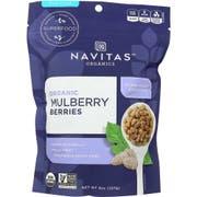 Navitas Naturals Organic Sun Dried Mullberries, 8 Ounce -- 12 per case.