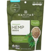 Navitas Naturals Organic Raw Shelled Hemp Seed, 8 Ounce -- 12 per case.