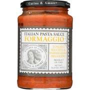 Cucina and Amore Formaggio Pasta Sauce, 16.8 Ounce -- 6 per case.