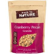 Back to Nature Cranberry Pecan Granola, 11 Ounce -- 6 per case