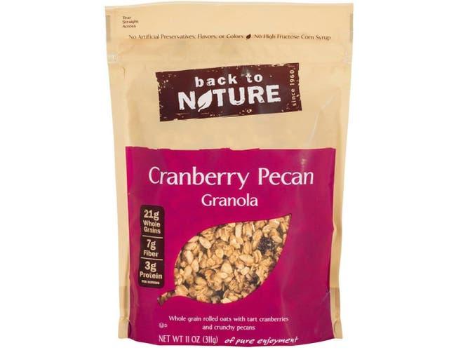 Back to Nature Cranberry Pecan Granola, 11 Ounce -- 6 per case
