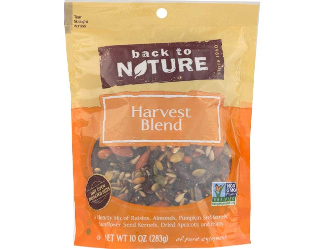 Back to Nature Harvest Blend, 10 Ounce -- 9 per case.