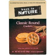 Back to Nature Classic Round Cracker, 8.5 Ounce -- 6 per case