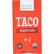 Riega Foods Organic No 4 Taco Seasoning Mix, 0.9 Ounce -- 8 per case.