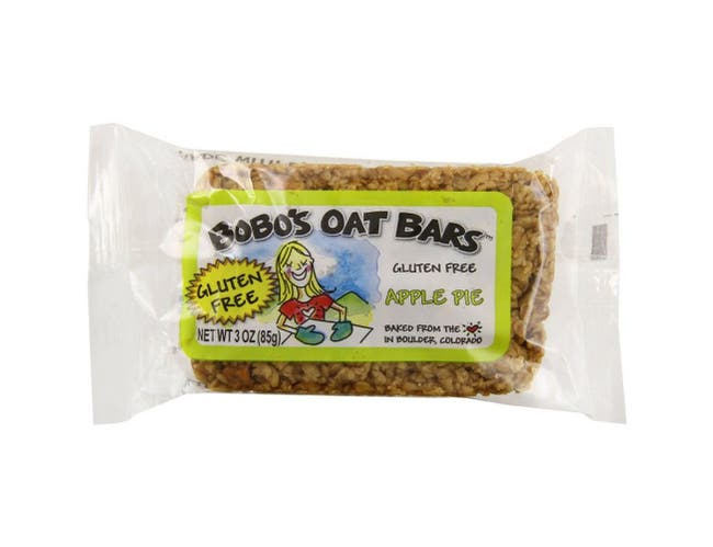 Bobos Oat Bars Apple Pie Flavor Oat Bar, 3 Ounce -- 12 per case.