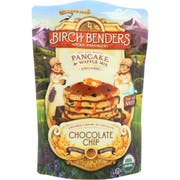 Birch Benders Organic Chocolate Chip Pancake and Waffle Mix, 16 Ounce -- 6 per case.