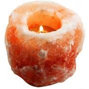 Evolution Salt Natural Tealight Candle Holder -- 1 each.