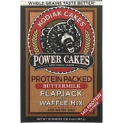 Kodiak Cakes Protein Packed Flapjack and Waffle Mix, 20 Ounce -- 6 per case.