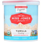 Miss Jones Organic Vanilla Frosting, 320 Gram -- 6 per case.