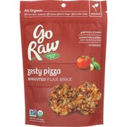 Go Raw Organic Zesty Sprouted Flax Snax, 3 Ounce -- 12 per case.