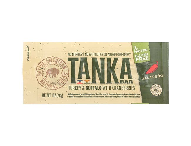 Tanka Jalapeno with Cranberries Turkey and Buffalo Meat Bar, 1 Ounce -- 12 per case.