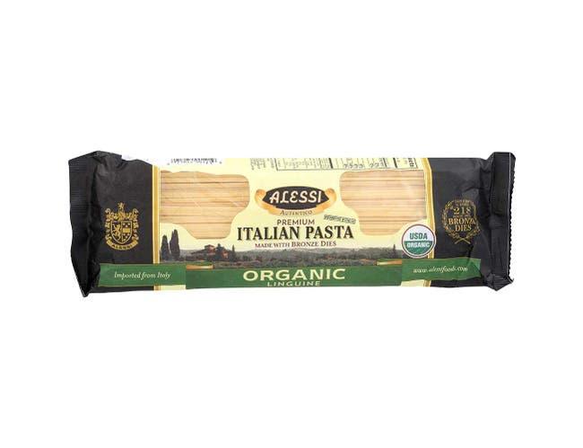 Alessi Organic Linguine Pasta, 16 Ounce -- 12 per case.