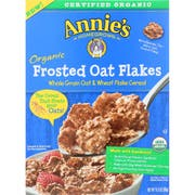 Annies Homegrown Organic Frosted Oat Flakes Cereal, 10.8 Ounce -- 10 per case.